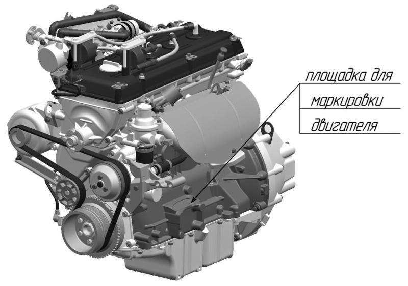 Маркировка двигателей ЗМЗ-409