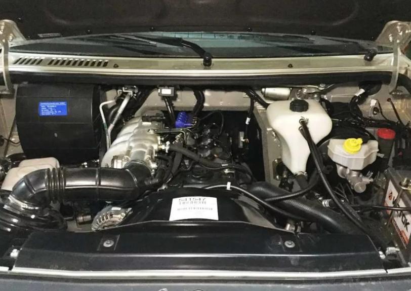 ЗМЗ 40905 с мощностью 128 л.с